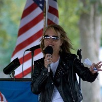 Dr Gina Loudon Southern Illinois Tea Party Photo