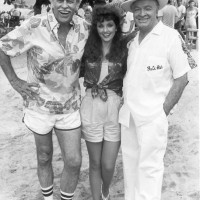 Morgan Brittany with Bob Hope