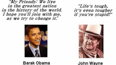 Photo of The Cowboy Ethics Code:  John Wayne vs. Obama