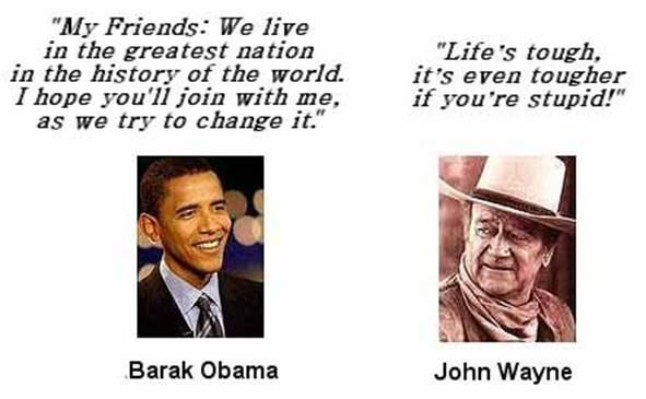 Obama&John Wayne 23July10
