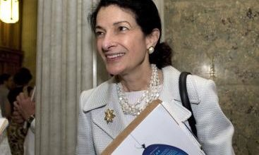 Photo of One Woman's Observation of Sen. Olympia Snowe