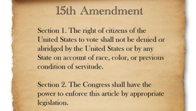 Photo of The Right To Vote – It's In There