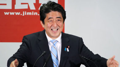 Photo of Welcome Back to Political Office, Japan's Abe