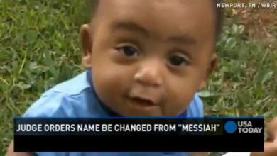 "Photo of A Baby Named ""Messiah"""