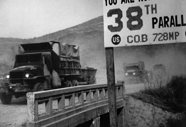military-trucks-crossing-38th-parallel