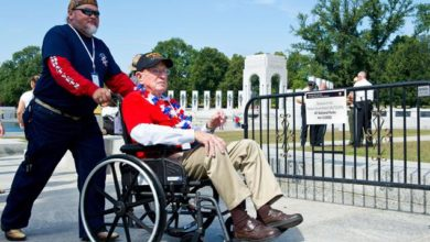 Photo of WWII Veterans:  Honor, Duty, Courage Never Changes