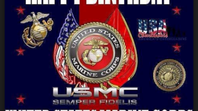 Photo of US Marine Corps, Happy Birthday and Thank You!