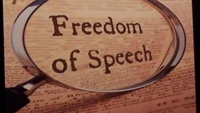 Photo of It's About Freedom of Speech.  Period.