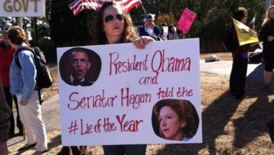 Photo of Protests Grow Louder as Support for Obamacare Grows Weaker