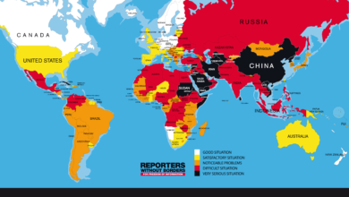 Photo of US Ranks 46th on World Press Freedom Index – Drops 14 Spots