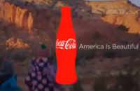 Coca Cola ad on Super Bowl — American's brand? Hm.