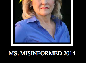 Photo of Ms. MisInformed 2014:  Gov. Mary Fallin For Pushing Common Core!