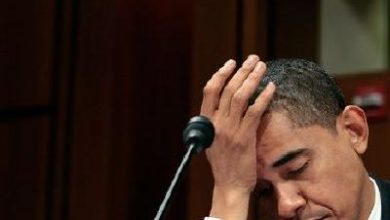 """Photo of NY Post: """"Beaten Obama turns his back on the world"""""""