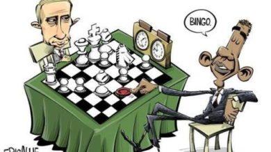 "Photo of Putin Response to Obama Ban and G8 ""UnFriending"""