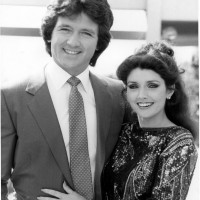 "Morgan with ""Bobby Ewing"" on Dallas"