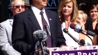 Photo of Dave Brat's Message of Unity in 1st Press Conference as Candidate