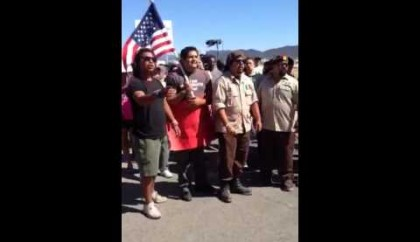 "PolitiChicks Exclusive Video: ""Token"" & ""Nazi"" Claims by La Raza in Murrieta"