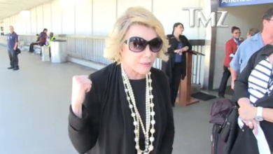 "Photo of Video:  Joan Rivers Defends Israel, Calls CNN, BBC ""Insane""!"