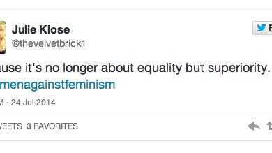 Photo of #WomenAgainstFeminism Gains Momentum on Twitter