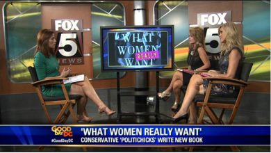 Photo of Ann-Marie Murrell on 'Good Day D.C.' Discussing 'What Women (Really) Want'