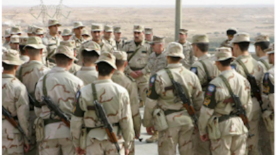 Photo of American Troops Injured While Handling Chemical Weapons In Iraq