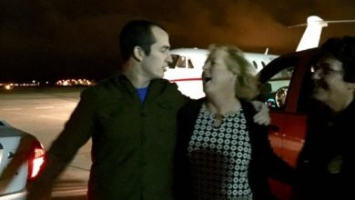 Photo of VIDEO footage of Marine Sgt. Tahmooressi BACK ON AMERICAN SOIL!