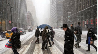 Photo of Daniel Greenfield:  The Snow Beat the Snow-Deniers