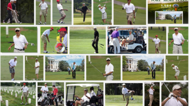 Photo of Obama's True Love:  Golf