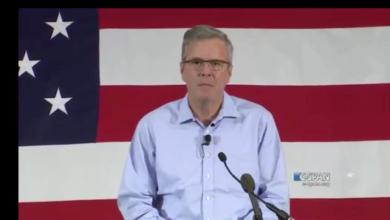 """Photo of Jeb Bush At FITN:  """"I don't see any coronations coming my way"""""""