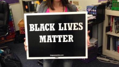 Photo of #HumanLivesMatter