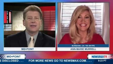 Photo of Ann-Marie on Newsmax TV:  The Political Analogy of the Tortoise & the Hare