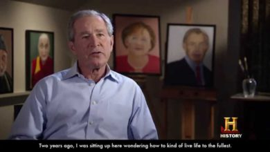 Photo of Bush Paintings Recall the Good Ole Days (Video)