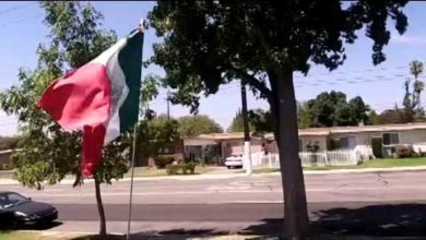 Photo of CA Woman Receiving Death Threats After Asking Family to Display American Flag w/Mexican Flag