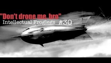"""Photo of """"Don't Drone Me, Bro"""" Intellectual Frog Legs #30"""