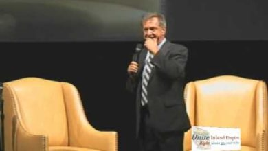 Photo of Evan Sayet Guest Speaker at Unite IE Conservative Conference