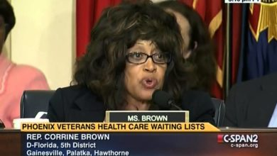 Photo of Florida Rep. Corrine Brown…Um…