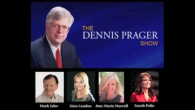 Photo of Full Segment of Ann-Marie Murrell & Sarah Palin on the Dennis Prager Show