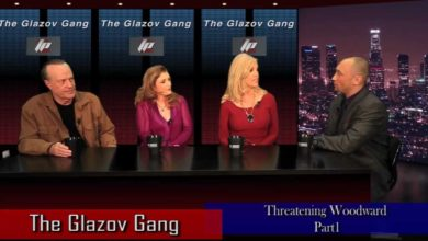 Photo of Glazov Gang w/ PolitiChicks Morgan Brittany & Ann-Marie Murrell