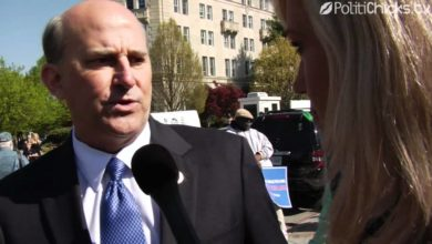 Photo of Louie Gohmert at Road to Repeal Rally in DC