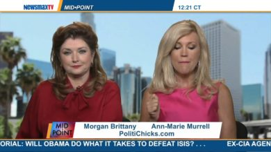 Photo of Morgan & Ann-Marie Discuss James Foley, Perry & Ferguson on Newsmax TV