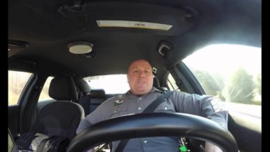 Photo of MUST SEE:  Police Officer Caught on Dashcam Singing Taylor Swift's 'Shake It Off'