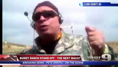 Photo of Next WACO? Protestors Surge As Heavily Armed Feds Round Up Nevada Rancher's Cattle