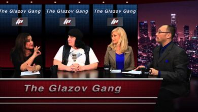 Photo of PolitiChick Anchor Ann-Marie, Nonie Darwish & more on The Glazov Gang