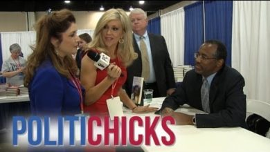 "Photo of PolitiChicks Asks Dr. Ben Carson: ""Are You Running For President?"""