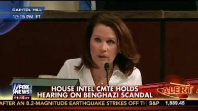 Photo of Rep. Bachmann Grills CIA Director About Benghazi