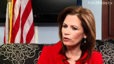 Photo of PolitiChicks Exclusive: Rep. Michele Bachmann in D.C.