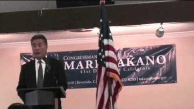 "Photo of Rep. Mark Takano (D-CA) to Constituents: ""This is MY Public Forum, Not Yours"""