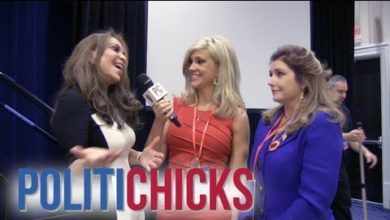 "Photo of Two Of CPAC's ""Uninvited"": Geller & Gaffney Talk To PolitiChicks"