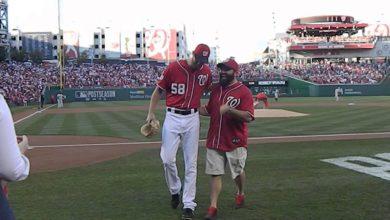 Photo of Wounded Iraq Veteran Throws Unique Ceremonial 1st Pitch