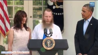 Photo of Yes, Sgt. Bergdahl's Father Really Did Praise Allah in Press Conf w/Obama
